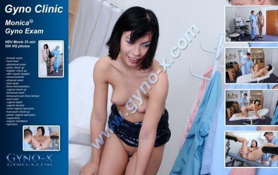 Gyno-x - Monica - Monica (18 years girl gyno exam) (HD/720p/1.18 GB)