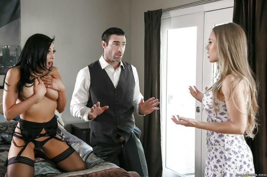 RealWifeStories/Brazzers - Audrey Bitoni, Nicole Aniston - Oh No You Don't!/05.04.16 (HD/720p/2.55 GB)