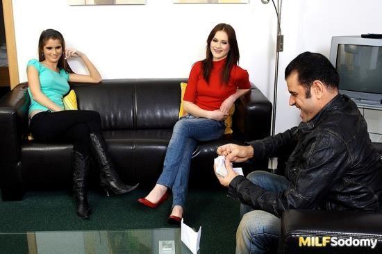 Milfsodomy - Nessa Devil, Theodora Ferreri - They Both Love Anal (HD/720p/732 MB)