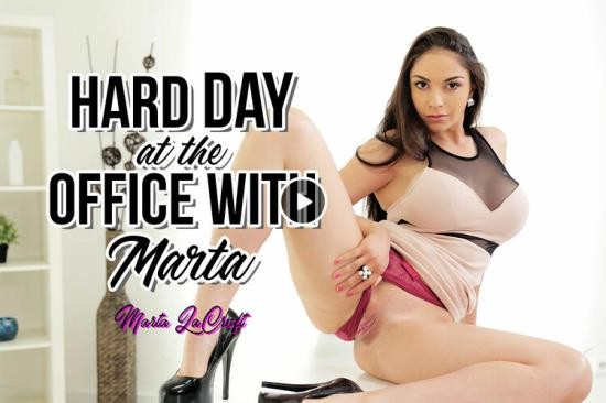 BaDoinkVR - Angel Wicky, August Ames, Valentina Nappi, Blanche Bradburry, Naomi Nevena - Hard Day at the Office with Marta (UltraHD 4K/2160p/3.82 GB)