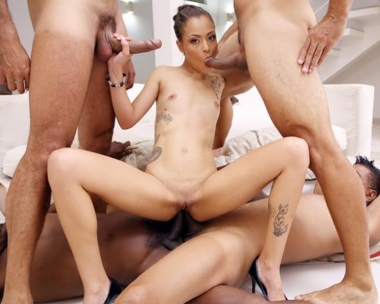 LegalPorno - Polly Petrova - Polly Petrova Gets Her First Triple Anal (TAP) With DP, DAP And Triple Penetration YE040 (HD/2.03 GB)