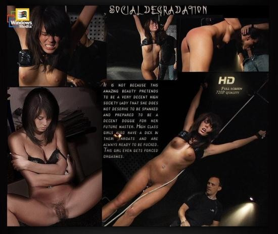 SubSpaceLand/ClassMedia - Melanie Memphis - Social Degradation (HD/720p/631 MB)