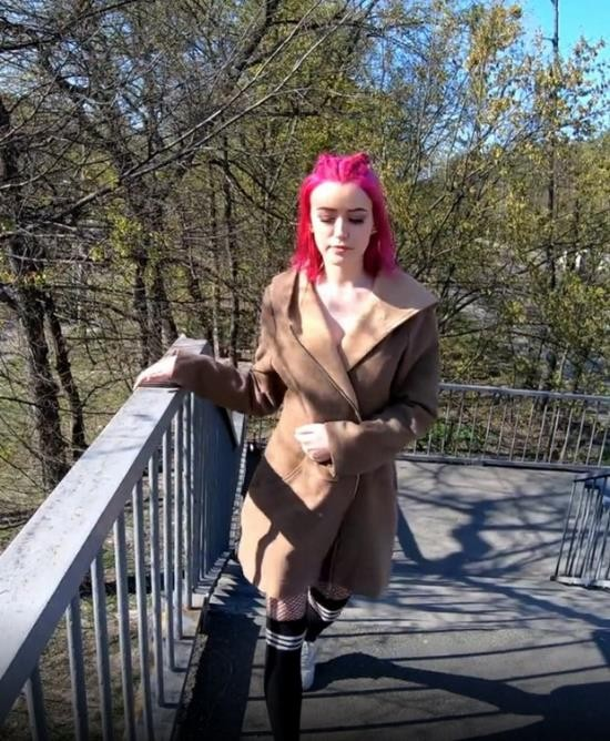 Pornhub - ADOLFxNIKA - Fuck in the Forest. the Real Prostitute. Pink Hair (FullHD/1080p/900 MB)