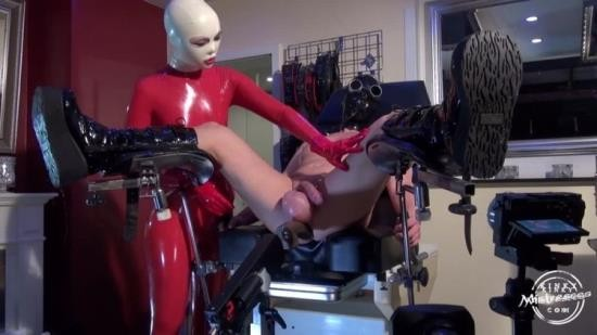 Fetish Narzisse, KinkyMistresses - Fetish Narzisse - Used And Milked By The Red Rubber Lady (HD/720p/464 MB)
