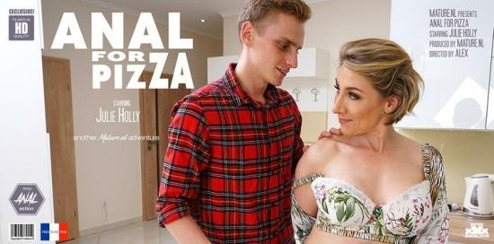 Mature.nl - Julie Holly (EU) (35) - Hot French MILF Julie Holly loves to have anal sex with the pizza guy (FullHD/1080p/1.59 GB)