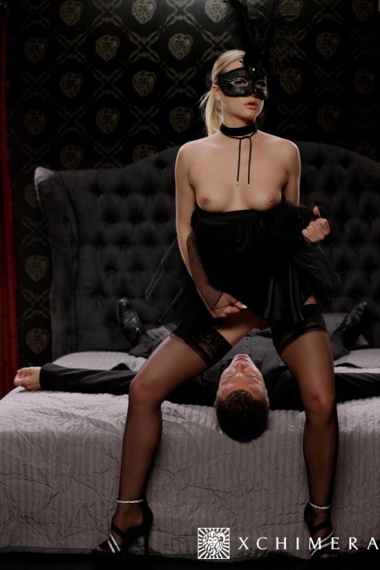 xChimera/PornDoePremium - Vinna Reed - Masked Czech blonde Vinna Reed gets cum covered in erotic fantasy fuck (HD/720p/589 MB)