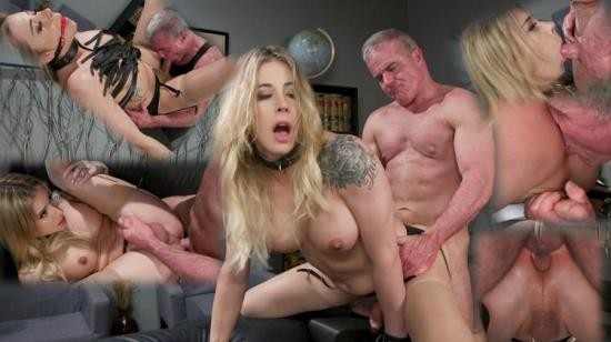 TSSeduction/Kink - Casey Kisses, Dale Savage - A Helping Hand: Dale Savage Helps Relieve Stressed Boss Casey Kisses (HD/720p/1.30 GB)