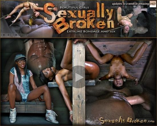 SexuallyBroken - Ana Foxxx, Matt Williams - Anna Foxxx is objectified and humiliated, one end is just her pussy and ass, the other a cock hole (HD/720p/843 MB)
