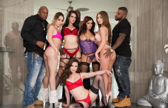JulesJordan - Casey Calvert, Goldie Rush, JoJo Kiss, Katrina Jade, Keisha Grey - Interracial Orgy Buffet (UltraHD/4K/2160p/5.03 GB)