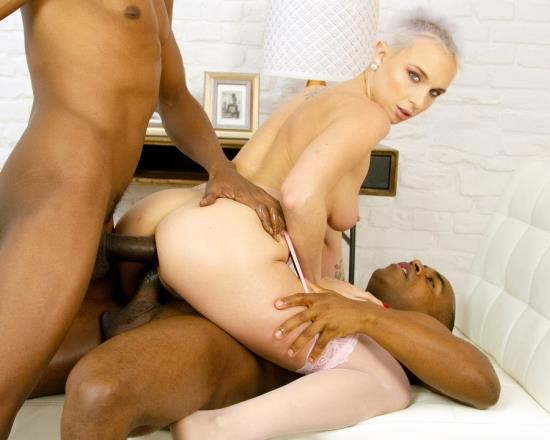 LegalPorno - Chantilly - Chantilly First Time Hardcore Double Penetration With BBC For AnalManiacs LD004 (SD/816 MB)
