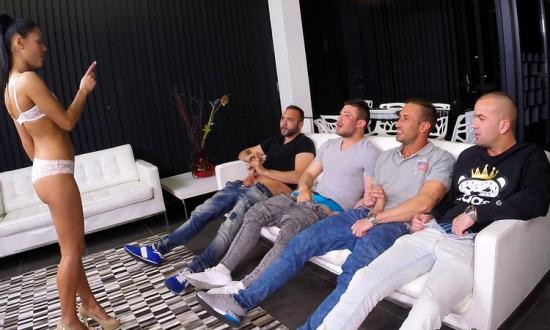 BitchConfessions/CumLouder - Apolonia, Penelope Cum - Apolonia's First Gangbang (HD/720p/1.25 GB)