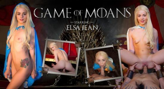 WankzVR - Elsa Jean - Game of Moans (FullHD/1080p/1.80 GB)