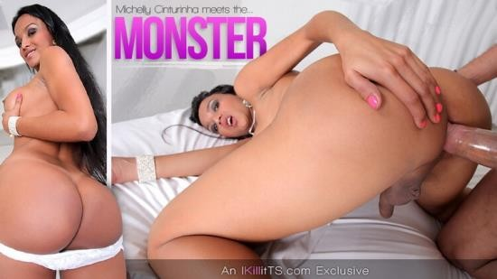 Trans500 - Michelly Cinturinha - Michelly Cinturinha meets the Monster (HD/720p/340 MB)