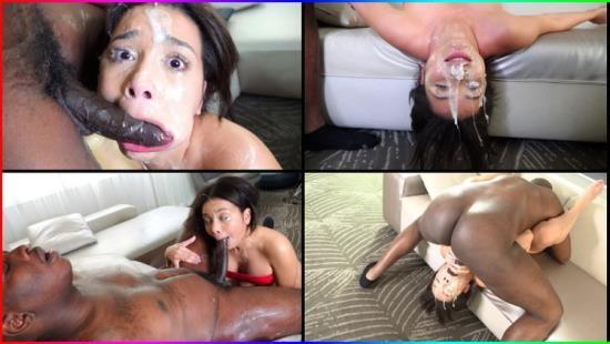 DickDrainers - Aaliyah Hadid - Face Fucking Fantasy Cum To Life (FullHD/1080p/2.84 GB)