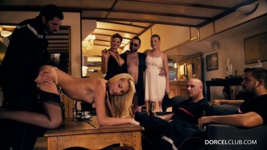 DorcelClub - Anna Polina,Anissa Kate,Lucy Heart - Orgie libertine: fellations, DP, penetrations anales pour Anna, Lucy (FullHD/1080p/503 MB)