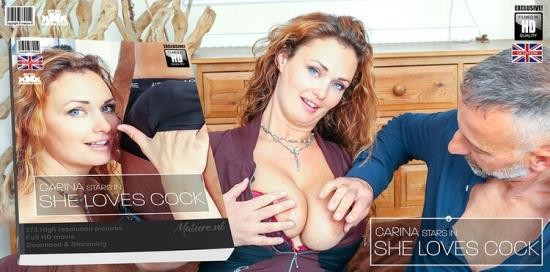 Mature.nl - Carina (EU) (36) - Hairy red MILF Carina has a very special love for hard cocks (FullHD/1080p/2.37 GB)