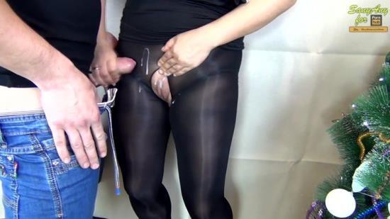 Chaturbate - SanyAny, Alina Rose - HANDJOB CUM ON PUSSY SEXY SECRETARY IN NYLON PANTYHOSE (FullHD/1080p/185 MB)