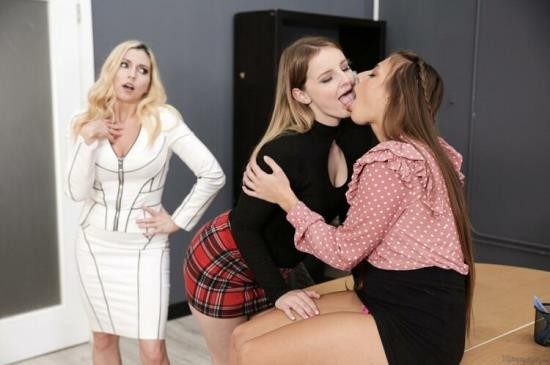 MommysGirl/GirlsWay - Christie Stevens, Gia Derza, Eliza Eves - Whatever You Say, Boss!...s Daughter (FullHD/1080p/1.20 GB)