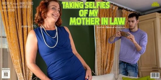 Mature.nl - Iris (53) - Caught my mother in law taking selfies (FullHD/1080p/1.25 GB)