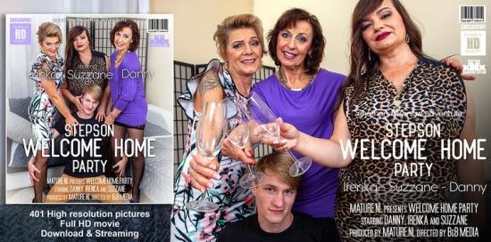 Mature.nl - Danny (65), Irenka (61), Suzzane (50) - A stepsons coming home party with three horny cougars (FullHD/1080p/1.90 GB)