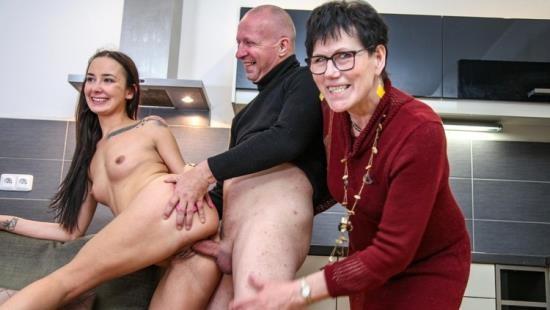 GrandParentsX - Dusana aka Freya Dee - Creepy Old Couple Gives Sex Lessons To Hot Teen (FullHD/1080p/2.25 GB)