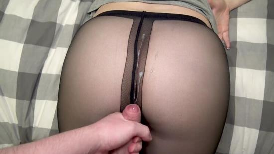 Chaturbate - SanyAny, Alina Rose - Sperm on Pantyhose after Masturbation (FullHD/1080p/138 MB)