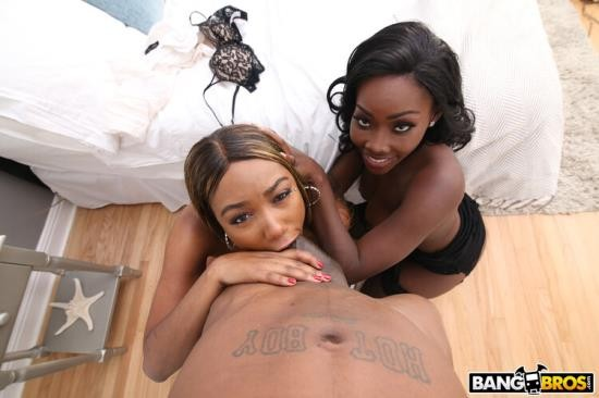 BrownBunnies/BangBros - Chanell Heart, Osa Lovely - Step Mom and Daughter Share Cock (SD/480p/412 MB)