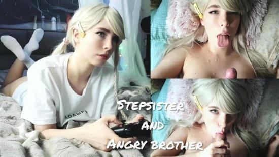 Cam4 - MollyRedWolf - Stepsister Paid with her Body for a Broken Gamepad (cum face) (FullHD/1080p/307 MB)