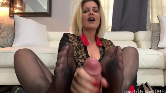 Chaturbate - SanyAny, Alina Rose - Goddess Brandon Secret Footjob Agreement (FullHD/1080p/176 MB)