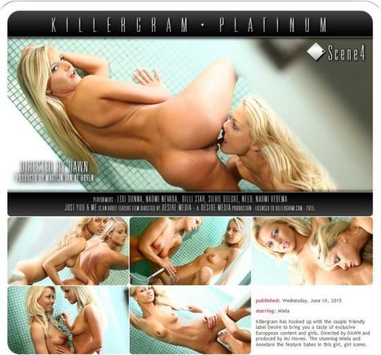 Daring/KillerGram - Miela, Annelare - Just You And Me Scene 4 (HD/720p/564 MB)