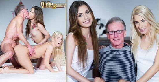 Oldje-3some - Nesty, Elle Rose - A Sex Chat (HD/720p/402 MB)