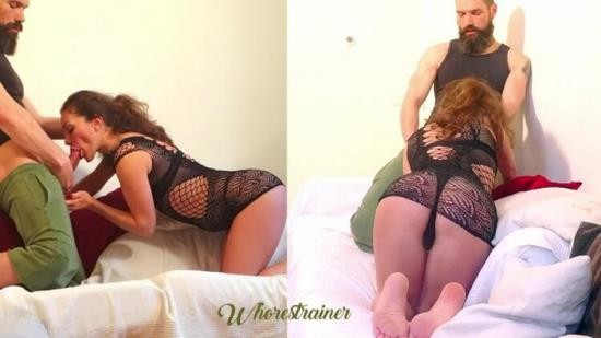Whorestrainer - Whorestrainer - The Casting Couch, Split Screen (FullHD/1080p/326 MB)