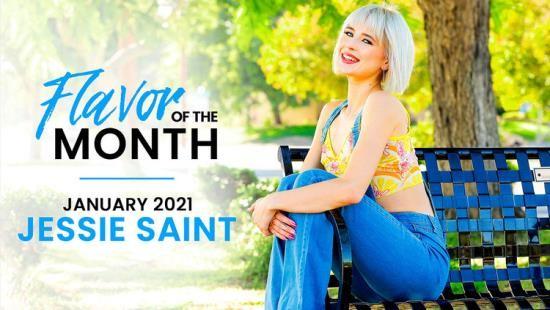 StepSiblingsCaught/Nubiles-Porn - Jessie Saint - January 2021 Flavor Of The Month Jessie Saint (FullHD/1080p/1.33 GB)
