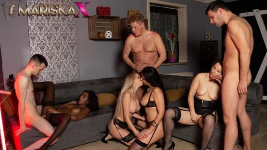 MariskaX - Mariska X, Amber Jayne - Orgy with Mariska and her Friends - Part 3 (FullHD/1080p/176 MB)