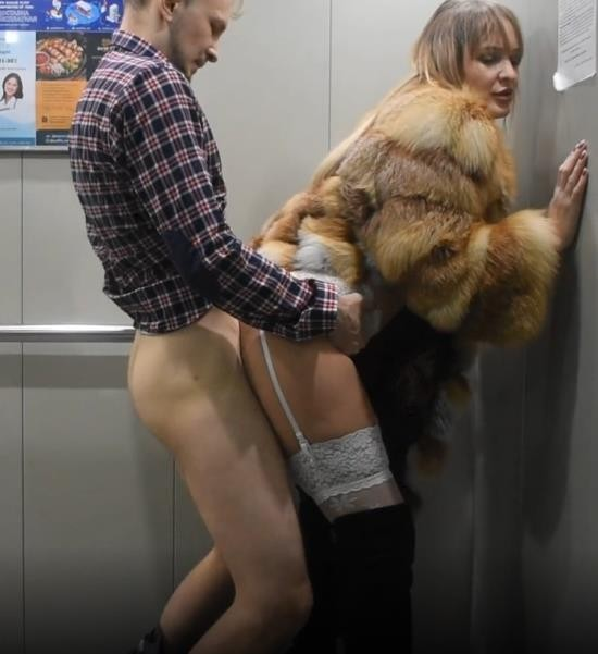 MaxBastard69 - MaxBastard69 - A Beautiful Girl got Stuck in the Elevator, but she was Rescued by And.. (FullHD/1080p/238 MB)