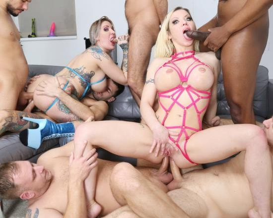 LegalPorno - Barbie Sins, Alexxa Vice - Wet UK Supersults With Barbie Sins And Alexxa Vice 2, Orgy With Balls Deep Anal, Dap, Gapes, Buttrose, Pee Drink GIO1692 (HD/1.92 GB)