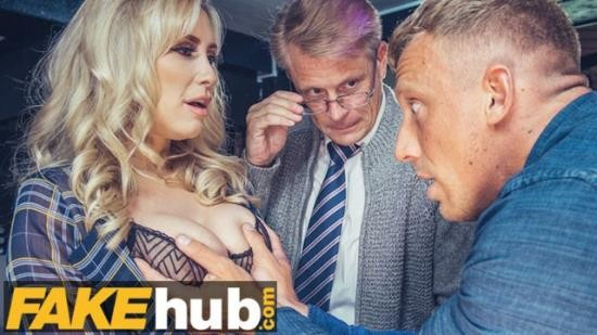 FakehubOriginals - Karlie Simon - Big Tits MILF Fucked by BBC and Cuckold Husband in Pub Threesome Teen Big Ass! (FullHD/1080p/203 MB)