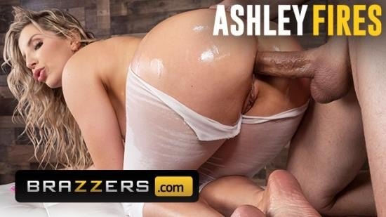 Brazzers - Ashley Fires - Thicc Ashley Fires get Ass Fucked through Yoga Pants! (FullHD/1080p/513 MB)