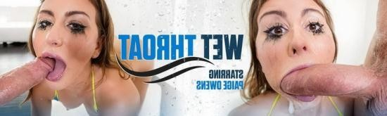 Throated - Paige Owens - Wet Throat (FullHD/1080p/1.38 GB)