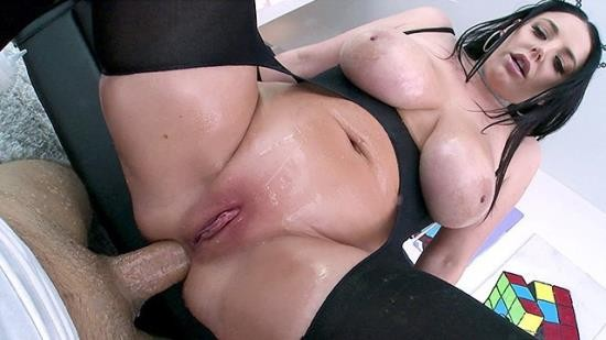 Nympho - Angela White - Stuffing all of tight holes (FullHD/1080p/259 MB)