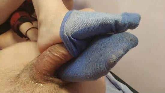 Chaturbate - SanyAny, Alina Rose - Footjobsockjob from a Sexy College Girl Cum inside Sock (FullHD/1080p/212 MB)