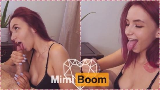 MimiBoom - Mimi Boom - Stunning Teen Shows Her Sucking Skills And Masters Oral Creampie - Mimi Boom (FullHD/1080p/130 MB)