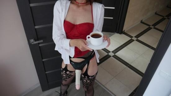 MaryCherry - Mary Cherry - Good Morning Starts With Strapon Ass Fuck.Mary Cherry (FullHD/1080p/195 MB)
