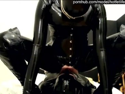 HotFetLife - HotFetLife - Rubber Femdom Girl And Her Latex Fetish Boy - Facesitting Spitting Rimming Face Slapping (SD/480p/41.6 MB)