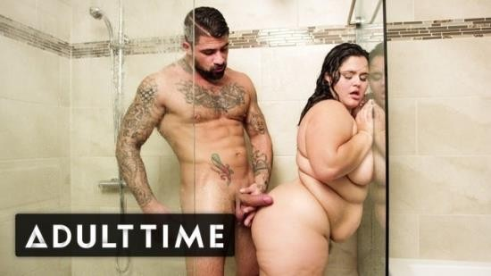 AdultTime - Karla Lane - BBW Karla Lane Steamy Shower Sex With Lover (FullHD/1080p/130 MB)