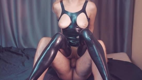 chastitylady - chastity lady - Slave fuck her mistress in latex catsuit surprise for him custom request (FullHD/1080p/485 MB)