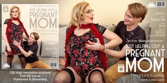 Mature.nl - Kaylea (37) - Hairy Pregnant Mom Fucks Toyboy (FullHD/1080p/1.97 GB)