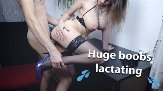 MarValStudio - Unknown - Big Lactating Tits Young MILF In Sexy Stockings and Lingerie (FullHD/1080p/72.2 MB)
