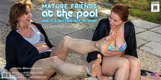 Mature.nl - Demi (61), Gypsy Leigh (48) - Two mature friends at the pool get out of control (FullHD/1080p/2.72 GB)