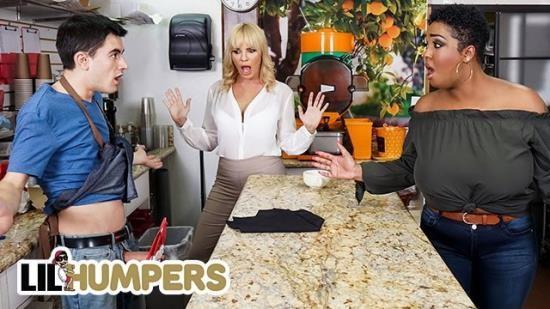 LilHumpers - Dana Dearmond, Layton Benton - Curvy Milfs Dana Dearmond Layton Benton Sharing Big Cock In a FFM Threesome (FullHD/1080p/183 MB)